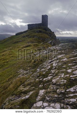 Brentor Church Dartmoor In Devon Uk