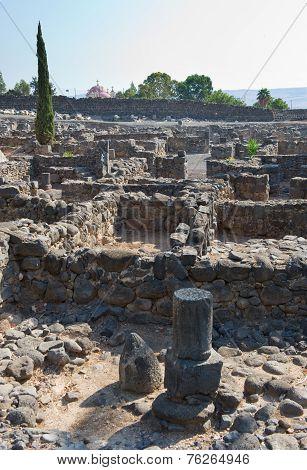 Ruines In Capernaum