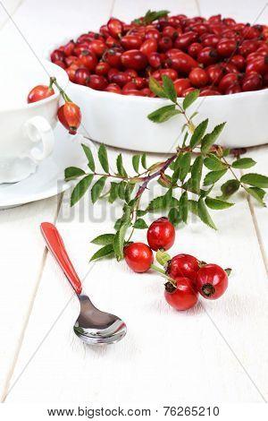 Rose Hip For Useful Tea
