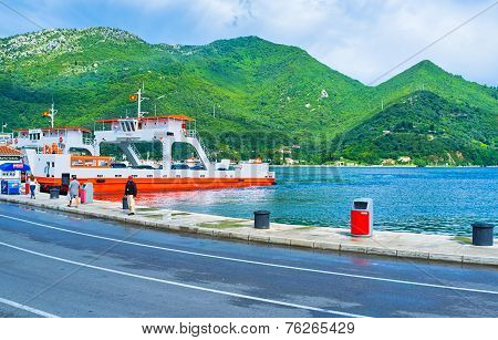 The Ferries In Montenegro