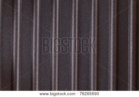 corrugated surface metal texture