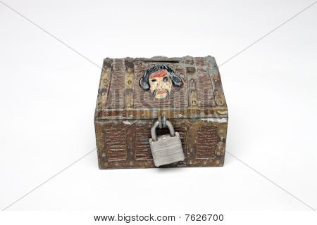 Toy Treasure Chest Front View