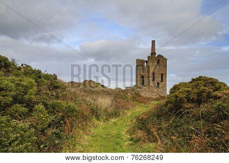 Levant Tin Mine In Cornwall Uk