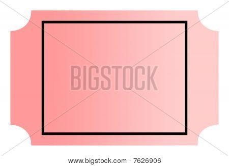 Blank Ticket