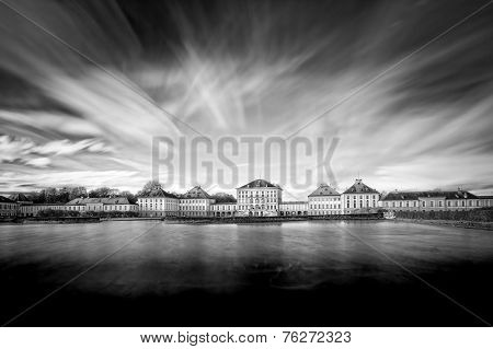 Nymphenburg castle in Munich, Bavaria, Germany