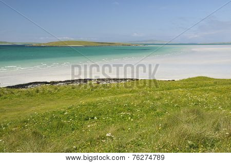 Lingeigh Island From Hornais