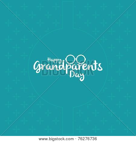 a set of blue backgrounds with white text for grandparents' day