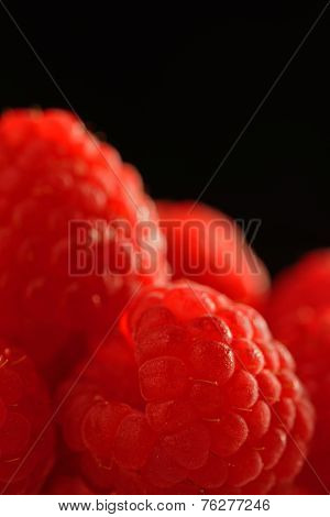 Raspberry Close Up