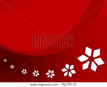 snowflakes vector illustration art
