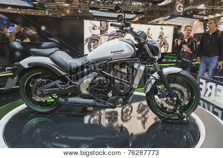 Kawasaki Vulcan S On Display At Eicma 2014 In Milan, Italy