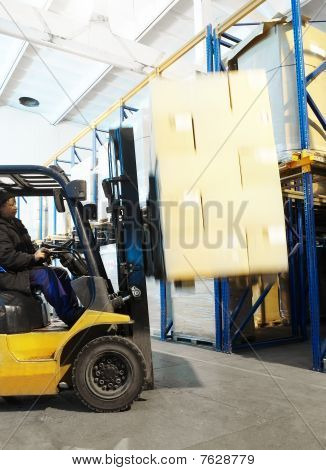 Warehouse Loader Forklift