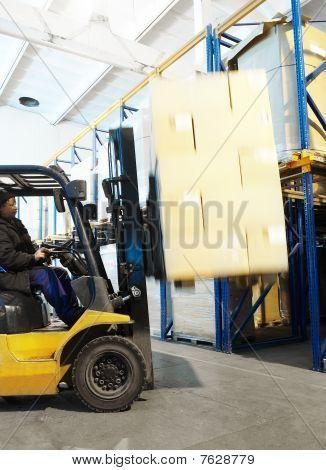 Warehouse Loader Forklift