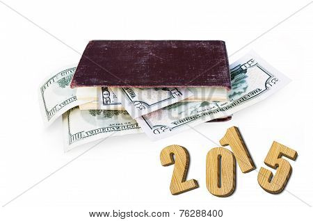 Currency In The Book. 2015 Wooden Numbers