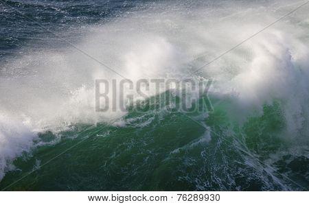 Mighty Waves of Atlantic Ocean, Ponta de Sagres, Portugal