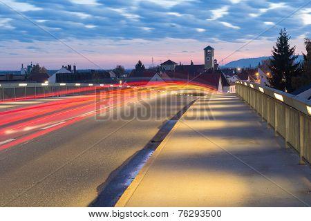 Bridge At Sundown