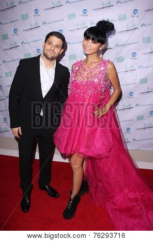 LOS ANGELES - NOV 15:  Jerry Ferrara, Bai Ling at the