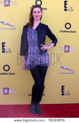 LOS ANGELES - NOV 16:  Eva Amurri Martino at the PS Arts Express Yourself Benefit at the Barker Hanger on November 16, 2014 in Santa Monica, CA