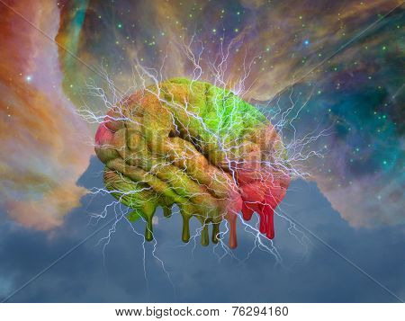Psychedelic mind melt Elements of this image furnished by NASA