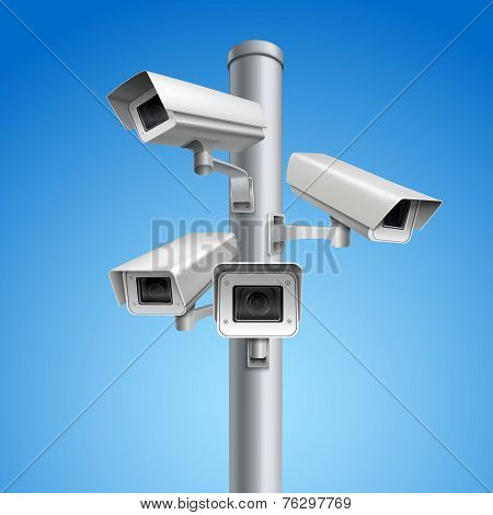 Surveillance camera pillar