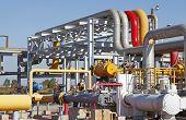 foto of oilfield  - Pipeline system - JPG