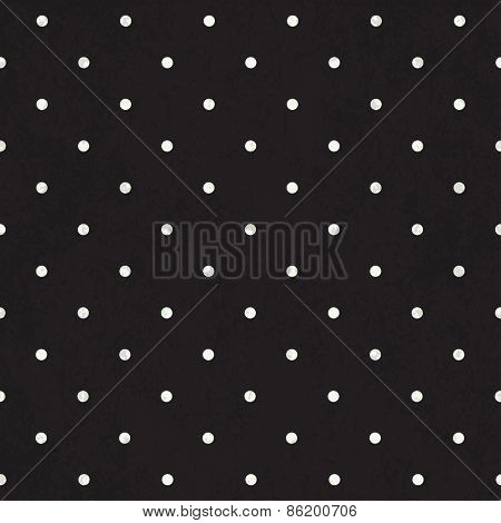 Black polka dot background