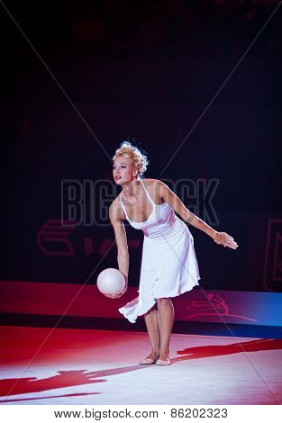 Gala Concert At Rhythmic Gymnastics World Championship