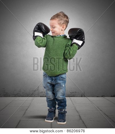 Child small muscles