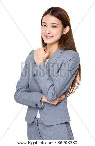 Beautiful Business woman confident smile