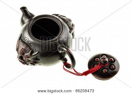 Open Oriental Teapot