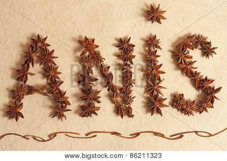 star anis in indian kitchen, written star anis