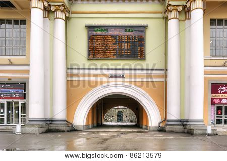 Yekaterinburg, Railway Station