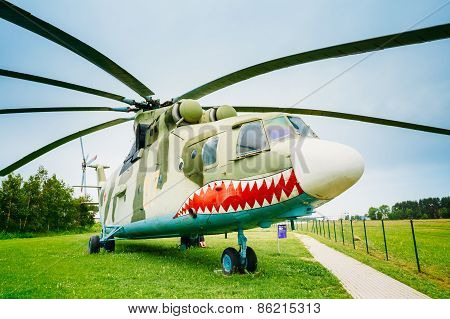 Russian Soviet multi-purpose transport helicopter Mi-26