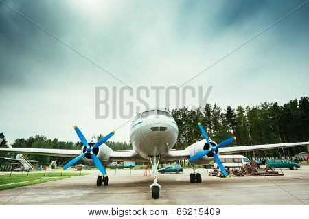Short-haul passenger aircraft IL-14P