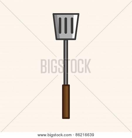 Kitchenware Spatula Theme Elements