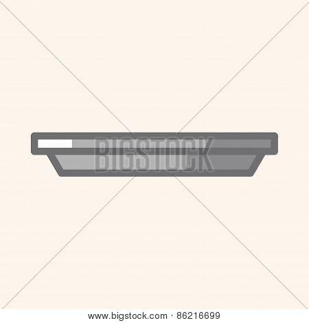Kitchenware Baking Plate Theme Elements