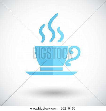 Cafe single icon.
