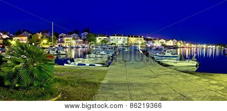 Adriatic Tourist Destination Petrcane Waterfront View