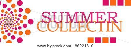 Summer Collection Pink Orange
