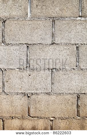Old White Brick Wall Background And Texture
