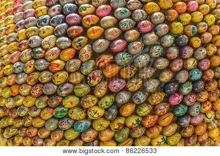 Multicolored Easter Eggs Of The Kiev Pechersk Lavra