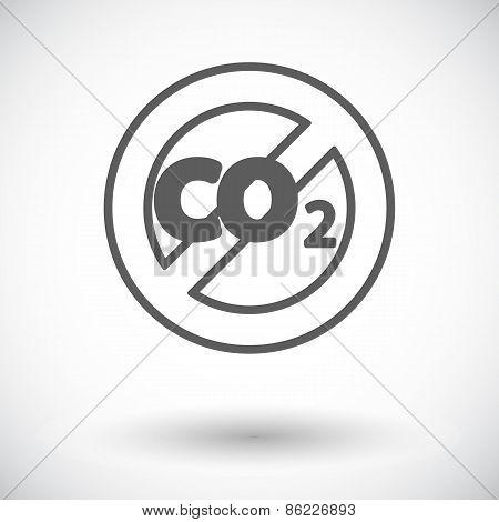 CO2 icon