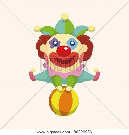 Clowns Theme Elements