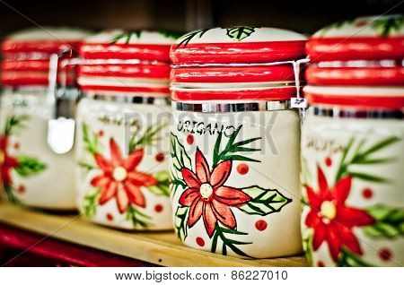 Jars With Spices