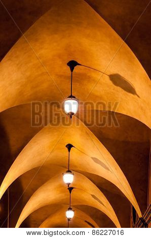 Arched Ceiling Walkway