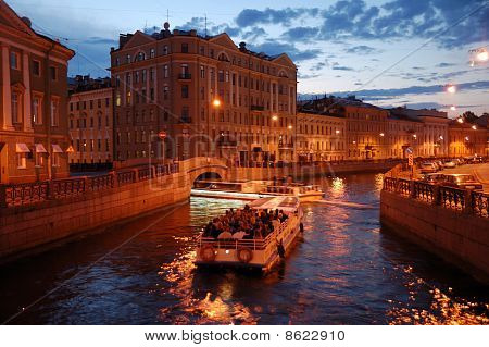 Petersburg Canel Trip