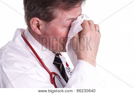 Sick Doctor, Sneezing