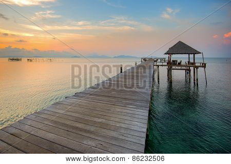 The Long Boardwalks To The Sea