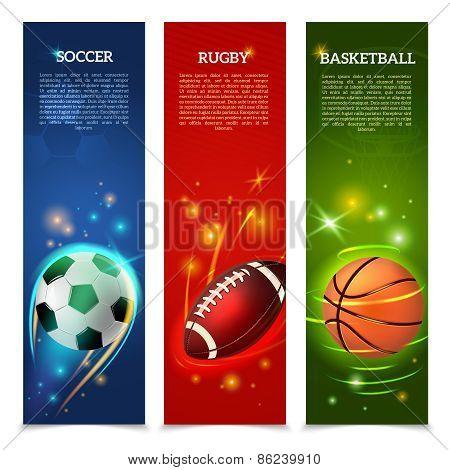 Soccer Banners Set