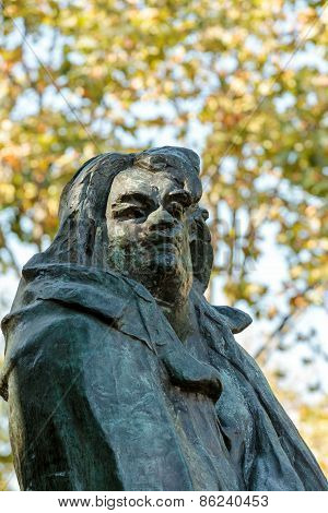 Paris - Rodin Museum.The Monument to Balzac