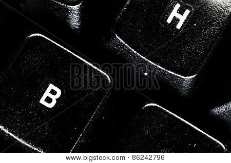 Computer Keypad - Abstract Background